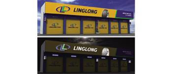 Hệ thống bảng hiệu lốp xe LINGLONG