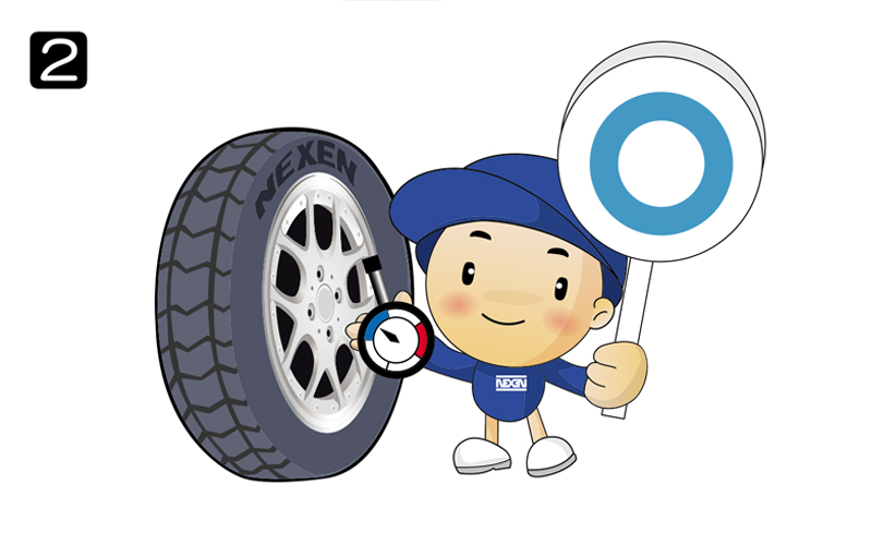 kiểm tra áp suất lốp xe
