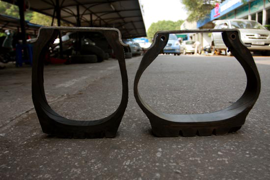 các lỗi thường gặp của lốp xe